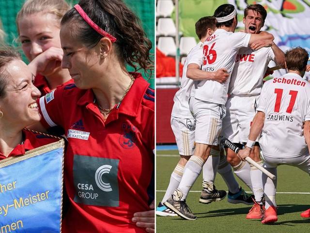 Hockey: Düsseldorf und Köln holen sich die Meistertitel