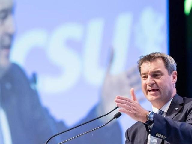 Parteitag - Die Schwarzen wollen ergrünen: Die CSU folgt Parteichef Söder – mit aller Vorsicht