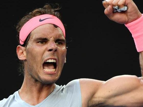 Nadal im Viertelfinale der Australian Open