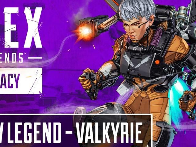 Apex Legends: Vermächtnis - Valkyrie zeigt ihre Fähigkeiten und ihr Jetpack
