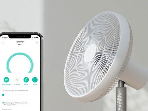 Xiaomi 2S wieder da: Ventilator mit Akku und App fällt auf 99 Euro