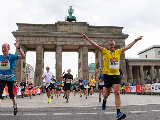Mehr als 25.000 Teilnehmer: Größter Marathon der Welt findet in Berlin statt