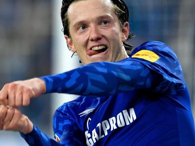 Michael Gregoritsch beschert Schalke einen Sieg gegen Gladbach