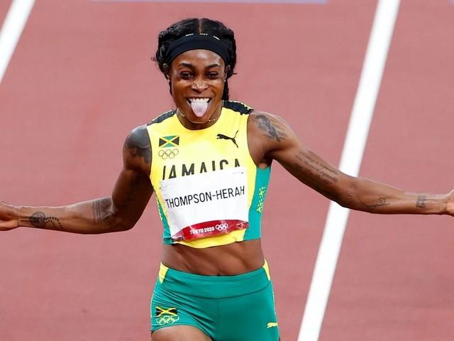 Jamaikanerin Thompson-Herah rennt zu zweitem Sprint-Gold