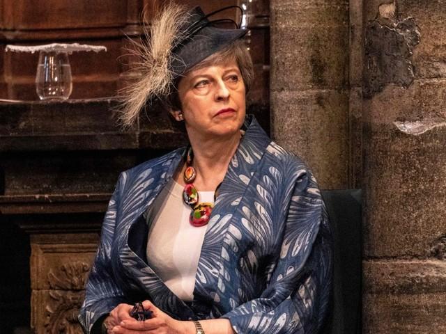 Brexit-Kämpferin Theresa May: Lady gaga