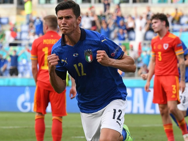 Italien gegen Wales 1:0, EM-Vorrunde, Gruppe A, 3. Spieltag