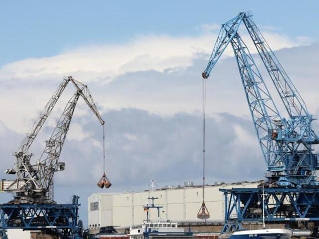 Vollbremsung der deutschen Wirtschaft zu Jahresbeginn