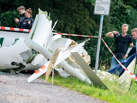 Absturzursache noch unklar: Zwei Tote bei Absturz zweier Segelflieger im Münsterland