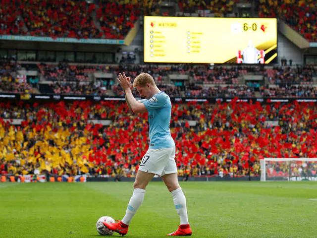 Klares 6:0 gegen Watford: Manchester City gewinnt FA Cup und historisches Triple