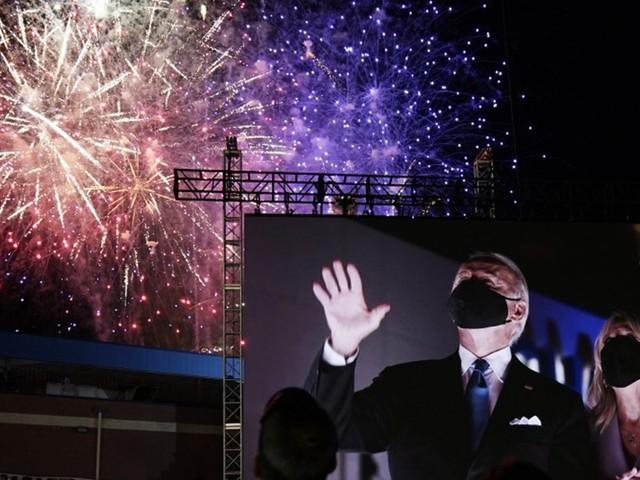 """Joe Biden sieht sich in Nominierungsrede als """"Verbündeter des Lichts"""""""