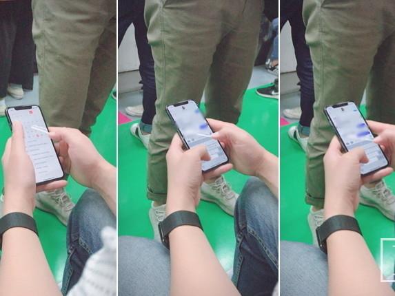 Fotos zeigen angeblich ein iPhone X in der freien Wildbahn