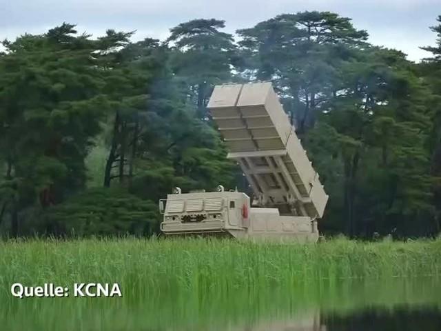 Video: Kim nahm an nordkoreanischem Raketentest teil