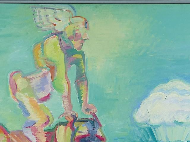 Rekordpreis für Maria Lassnig: Wilde Tiere sind kostspielig