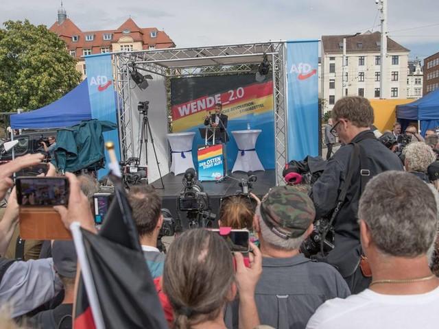 Landtagswahlen: AfD demonstriert zum Wahlkampfauftakt in Brandenburg Einigkeit