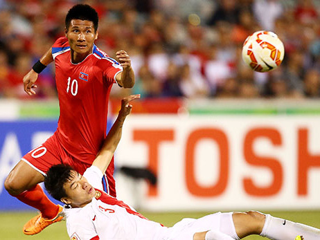 Fußball Österreich: Trotz Verletzung für Nordkorea: Verwirrung um St.Pöltener Stürmer Pak