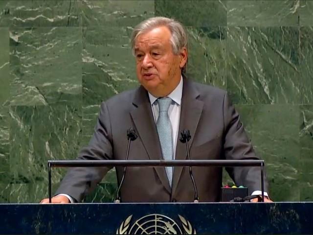"""Uno: António Guterres warnt vor """"Kaltem Krieg"""" zwischen den USA und China"""