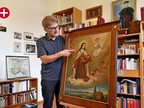 Ölgemälde: Heilige Thérèse – Heimkehr in den Lennedom 43 Jahren