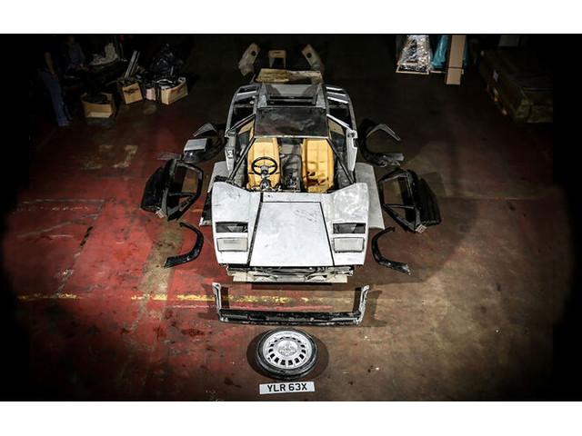 Lamborghini Countach 5000 S in der Auktion: Entkernter Lambo für 170.000 Euro