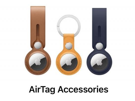 """AirTags: Apple wirbt für noch nicht erhältlichen """"California Poppy"""" Leder-Schlüsselanhänger"""