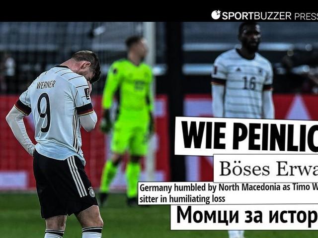 """Pressestimmen zum DFB-Debakel gegen Nordmazedonien: """"Zurück im Trauma"""""""