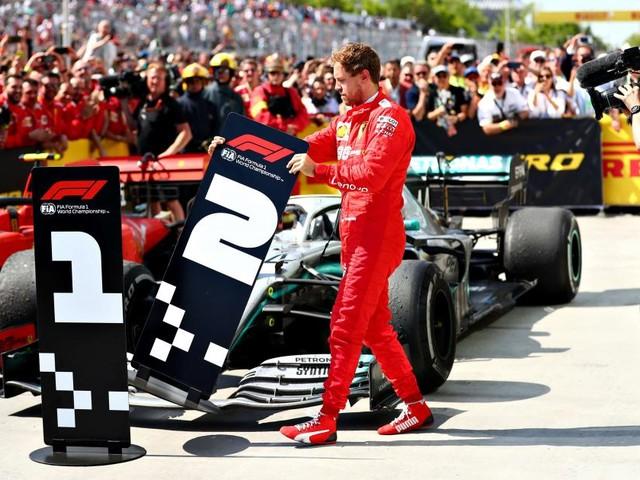 Wütender Vettel erklärte sich selbst zum Sieger