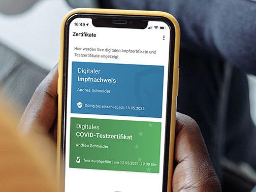 Corona-Warn-App: Testzertifikate lassen sich jetzt anfordern und ablegen