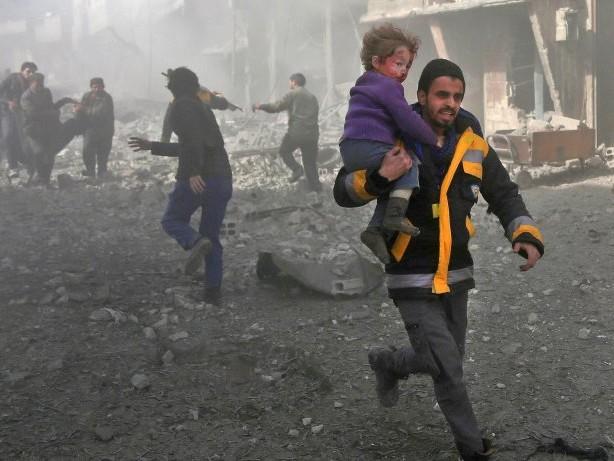 Bürgerkrieg: Ost-Ghuta droht im Syrien-Krieg das nächste Aleppo zu werden