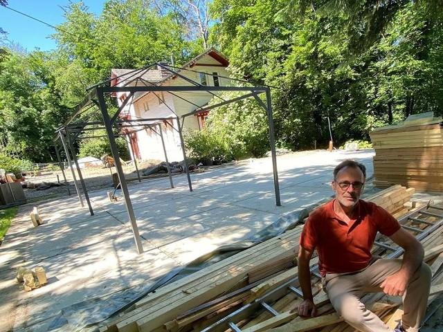 Krach am Forsthaus: Glaspavillon weg, Scheidung läuft