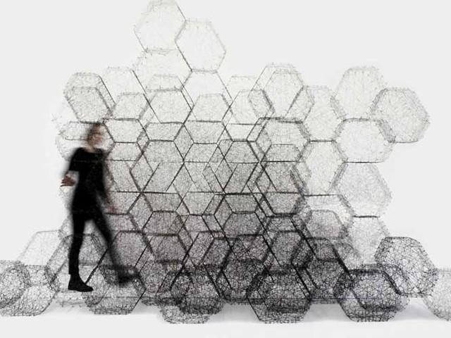Neue Stoffe – New Stuff. Ausstellung im Textilmuseum St. Gallen