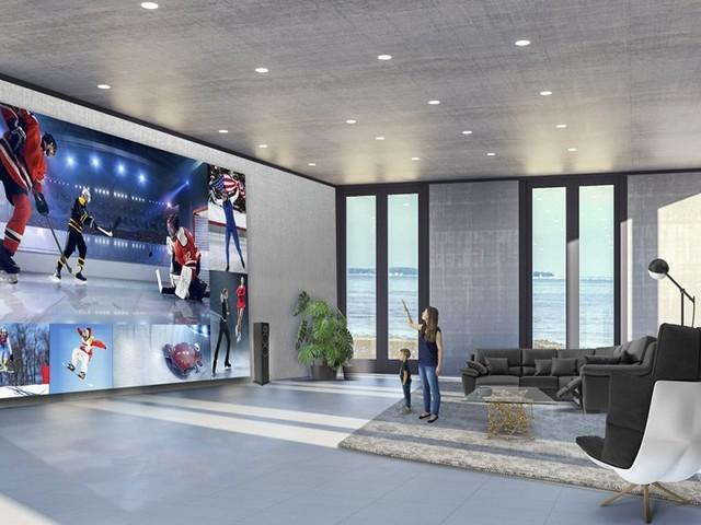8K-Fernseher mit 325 Zoll: LG stellt Riesen-TV vor