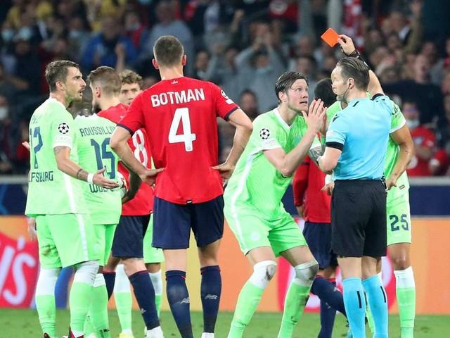 0:0 in Lille: VfL Wolfsburg rettet Punkt in Unterzahl