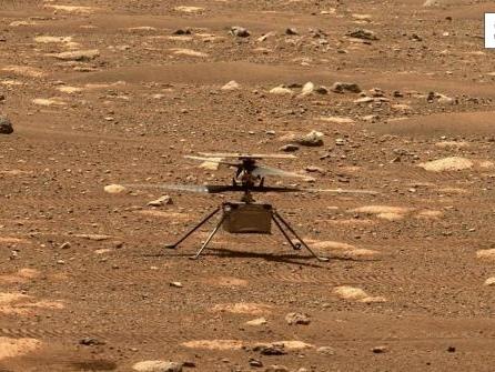 Mars-Hubschrauber landet an anderer Stelle