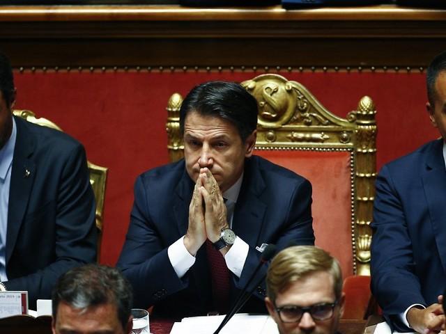 Regierungskrise in Italien: Conte reicht offiziell Rücktritt ein