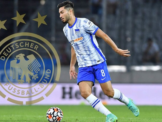 Mit guten Leistungen bei Hertha BSC: Serdar visiert Rückkehr ins DFB-Team an