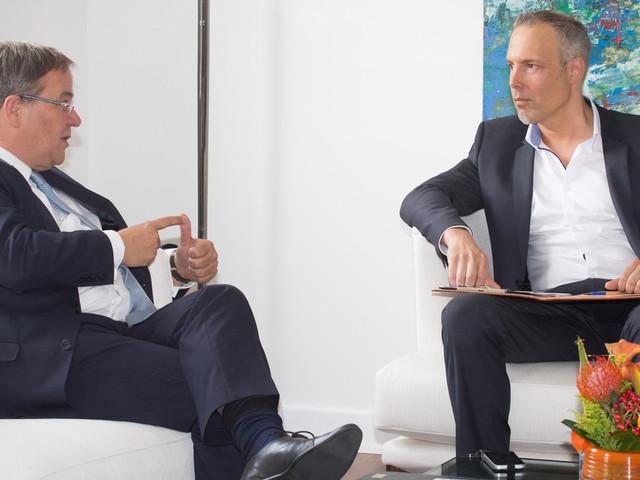 """NRW-Ministerpräsident Armin Laschet im Interview: """"Wir müssten Europa heute erfinden!"""""""