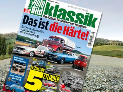 AUTO BILD KLASSIK 8/2018: Blick ins aktuelle Heft Extrem-Klassiker im Vergleich