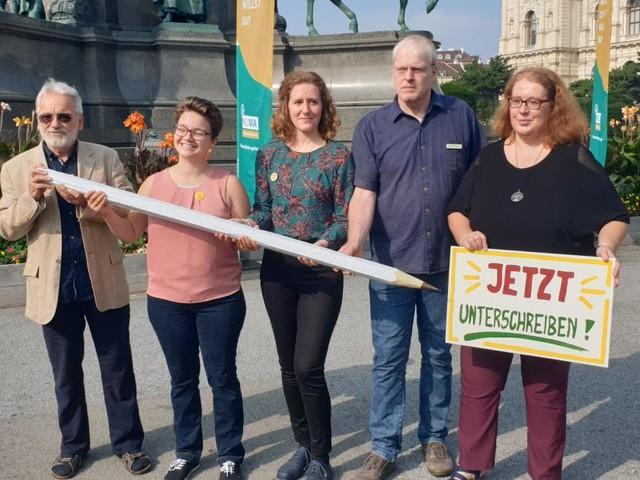"""Klimavolksbegehren startet: Ziel sind """"6,4 Millionen Unterschriften"""""""