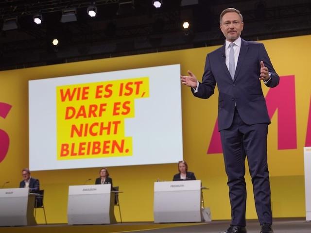 Parteitag der Freien Demokraten - Die FDP will regieren - und Lindner sendet bei Parteitag eine klare Botschaft