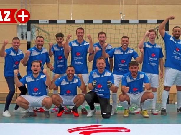 Futsal: Rumelner TV will wieder oben mitspielen