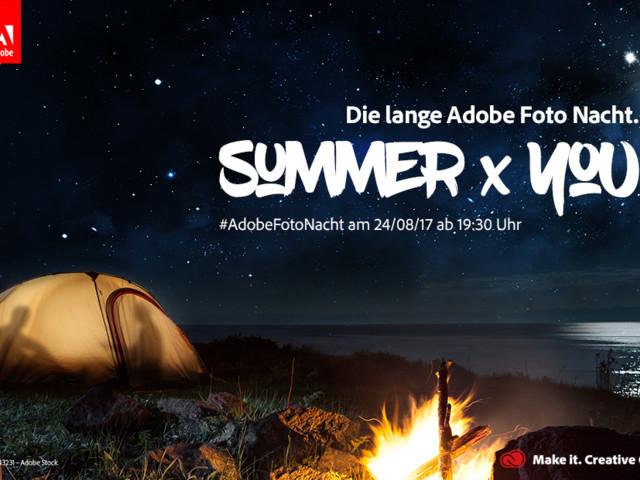 Tipps für die perfekten Urlaubsbilder bei der langen Adobe Foto-Nacht im Livestream