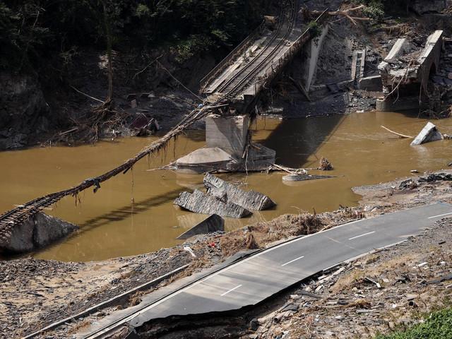 Flutkatastrophe: Deutsche Bahn rechnet mit Schäden in Milliardenhöhe