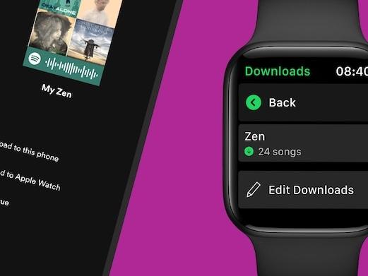 Spotify: Apple Watch Download jetzt möglich