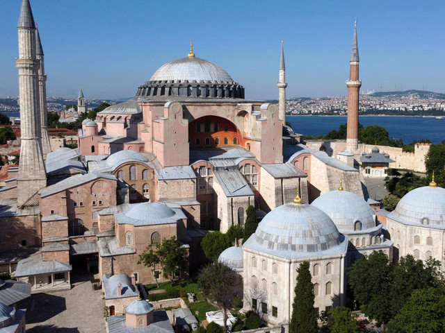 Moschee statt Museum? Türkei will Hagia Sophia in Istanbul umwidmen