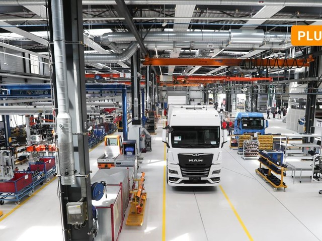 MAN schafft die Grundlage für Serienfertigung von Elektro-LKW in Bayern