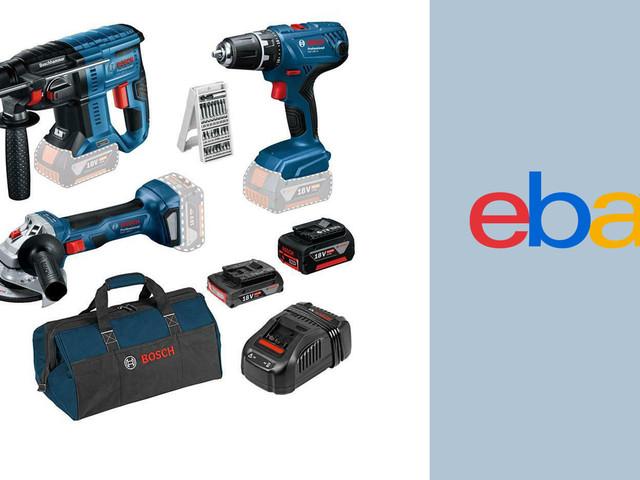 Ebay-Deal: Bosch-Werkzeug-Set günstiger kaufen