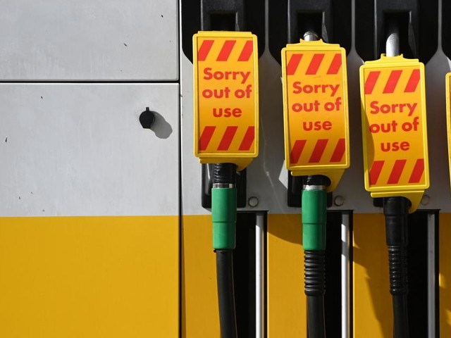 Versorgungskrise: Britische Armee soll Tankstellen beliefern