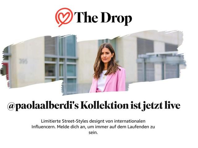 Amazon Fashion präsentiert The Drop mit erster Influencer-Kollektion von Paola Alberdi