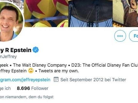 """Verwechslung auf Twitter: """"Fahr zur Hölle"""" – Schwere Beschimpfungen für den falschen Jeffrey Epstein"""