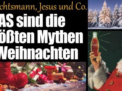 Weihnachten 2020: Die größten Weihnachtsmythen über Jesus, Santa Claus, Coca Cola und Co.