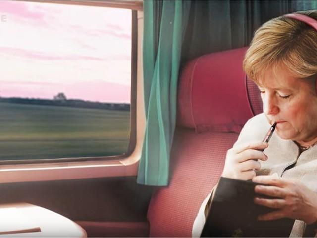 Ungewöhnliches Merkel-Video verbreitet sich: Was dahintersteckt